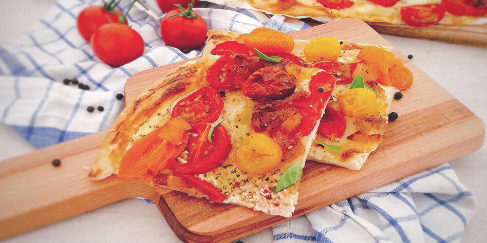 Blitz Tomaten Tarte