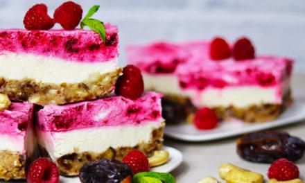 No Bake Himbeer Cheesecake